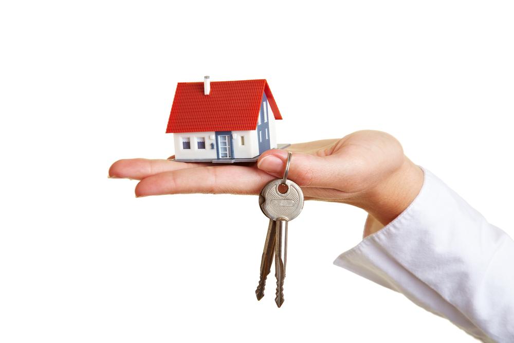 takuuvuokran hoitamalla avaimet asuntoon